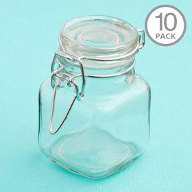 Glass Apothecary Jar (10 Count)