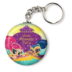 "Glisten and Sparkle Personalized 2.25"" Key Chain (Each)"