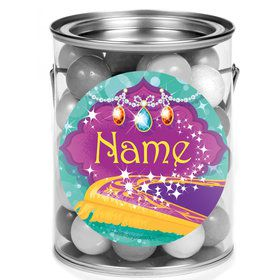 Glisten and Sparkle Personalized Mini Paint Cans (12 Count)
