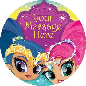 Glisten and Sparkle Personalized Stickers (Sheet of 12)