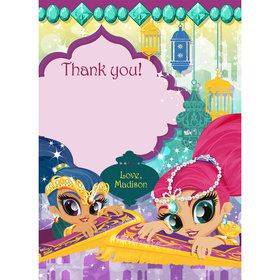 Glisten and Sparkle Personalized Thank You (Each)