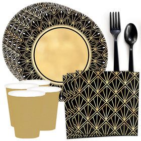 Glitz & Glam Standard Tableware Kit (Serves 8)