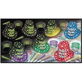 Glow-In-The-Dark New Year's Party Kit (For 50 People)