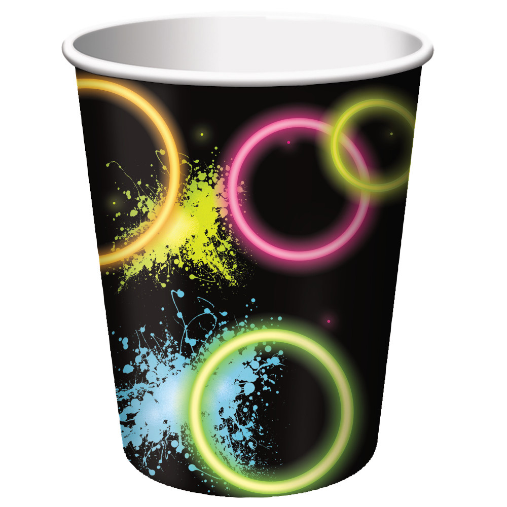 Glow Party 9 Oz Cups (8 Count) BB318133