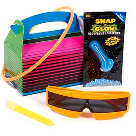 Glow Party Filled Favor Box (4)