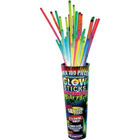 Glow Sticks (100 Pieces)