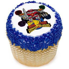 "Go Go Power Rangers! 2"" Edible Cupcake Topper (12 Images)"