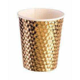 Gold 8oz Paper Cup