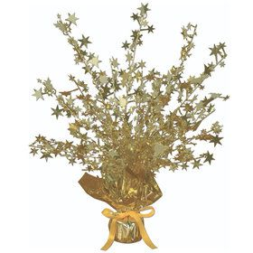 Gold Foil Star Gleam 'N Burst Centerpiece