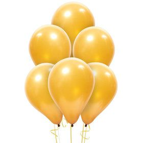 Gold Latex Balloons