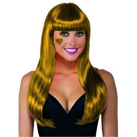Gold Long Wig