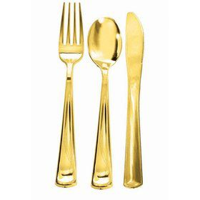 Gold Plated Forks