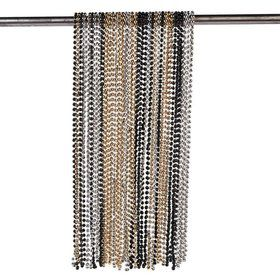 "Gold/Silver/Black 32"" Plastic Bead Necklaces (100 Pack)"