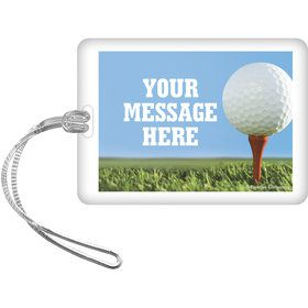 Golf Personalized Bag Tag (Each)