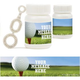 Golf Personalized Bubbles (18 Pack)