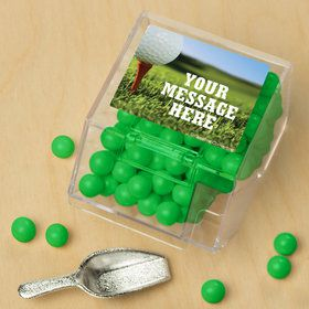 Golf Personalized Candy Bin with Candy Scoop (10 Count)