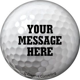 Golf Personalized Mini Button (Each)