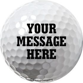 Golf Personalized Stickers (Sheet of 12)
