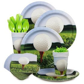 Golf Standard Tableware Kit Serves 8