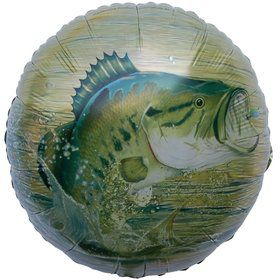 "Gone Fishin' 18"" Mylar Balloon (Each)"