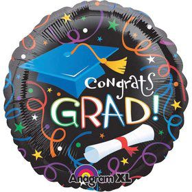 "Grad Celebration 18"" Balloon (Each)"