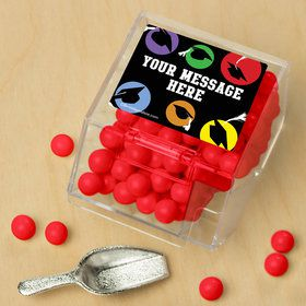 Grad Party Personalized Candy Bin with Candy Scoop (10 Count)