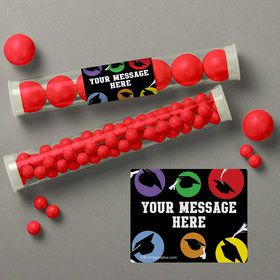 Grad Party Personalized Candy Tubes (12 Count)