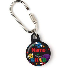 "Grad Spirit Personalized 1"" Carabiner (Each)"