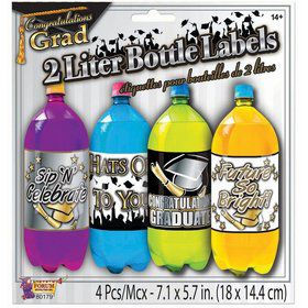 Graduation 2 Liter Bottle Labels (4)