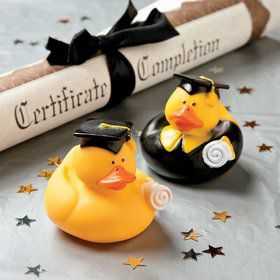 "Graduation 2"" Rubber Duckies (Each)"