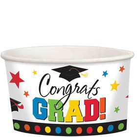 Graduation 9oz Treat Cups (8 Count)