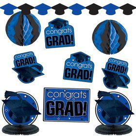 Graduation Blue Decorating Kit (Each)