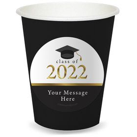 Graduation Day Gold Personalized Cups (8)