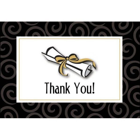 Graduation Day Thank You Notes Thank You Notes And Party