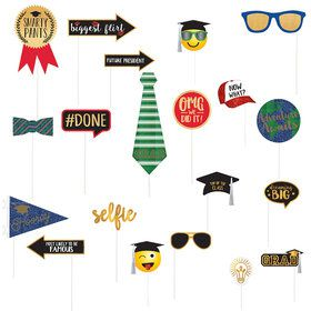 Graduation Deluxe Photo Prop Kit