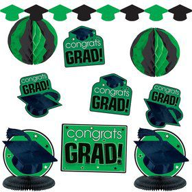 Graduation Green Decorating Kit (Each)