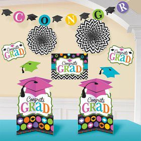 Graduation Multicolor Decorating Kit (Each)