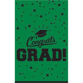 Graduation Table Cover Green Each
