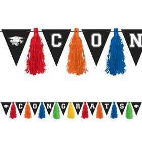 Graduation Tassel 10ft. Garland Decoration (Each)