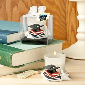 Graduation Themed Candle Holder (Each)