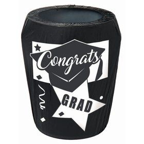 Graduation Trash Can Cover
