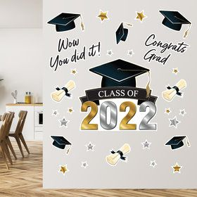 Graduation Wall Decals
