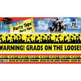 Graduation Warning Tape 20'