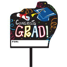 "Graduation Yard Sign 14"" x 15"""