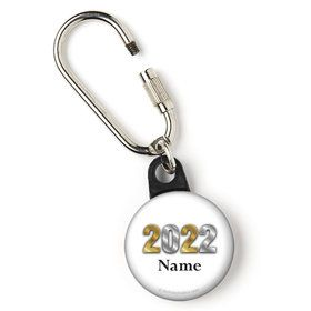 """Graduation Year Personalized 1"""" Carabiner (Each)"""