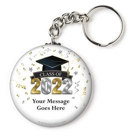 "Graduation Year Personalized 2.25"" Key Chain (Each)"