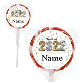"""Graduation Year Personalized 2"""" Lollipops (20 Pack)"""
