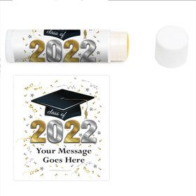 Graduation Year Personalized Lip Balm (12 Pack)