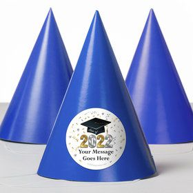 Graduation Year Personalized Party Hats (8 Count)
