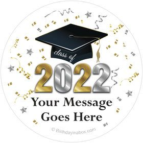 Graduation Year Personalized Stickers (Sheet of 12)